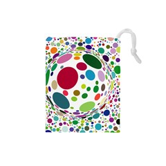 Color Ball Drawstring Pouches (Small)
