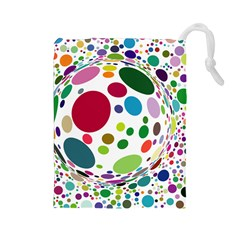 Color Ball Drawstring Pouches (Large)