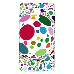 Color Ball Galaxy Note 4 Back Case