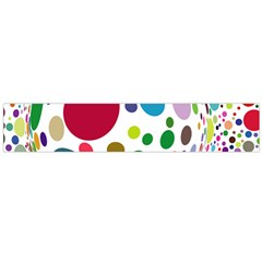 Color Ball Flano Scarf (Large)