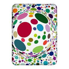 Color Ball Samsung Galaxy Tab 4 (10.1 ) Hardshell Case