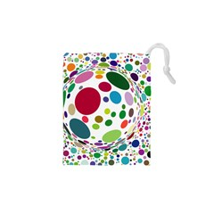 Color Ball Drawstring Pouches (XS)
