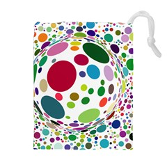 Color Ball Drawstring Pouches (Extra Large)