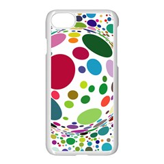 Color Ball Apple iPhone 7 Seamless Case (White)