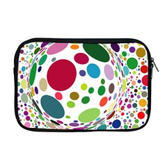 Color Ball Apple Macbook Pro 17  Zipper Case