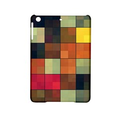 Background With Color Layered Tiling Ipad Mini 2 Hardshell Cases by Simbadda