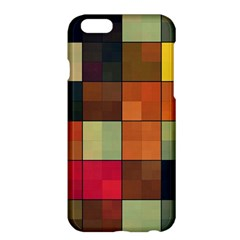 Background With Color Layered Tiling Apple Iphone 6 Plus/6s Plus Hardshell Case by Simbadda