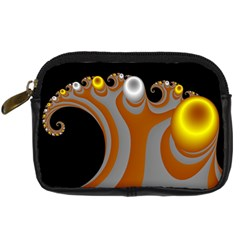 Classic Mandelbrot Dimpled Spheroids Digital Camera Cases by Simbadda