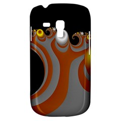 Classic Mandelbrot Dimpled Spheroids Galaxy S3 Mini by Simbadda