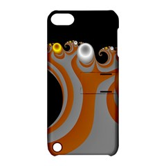 Classic Mandelbrot Dimpled Spheroids Apple Ipod Touch 5 Hardshell Case With Stand by Simbadda