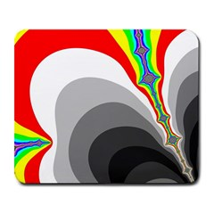 Background Image With Color Shapes Large Mousepads
