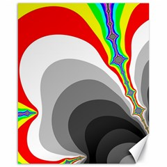Background Image With Color Shapes Canvas 16  X 20
