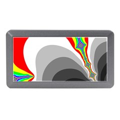 Background Image With Color Shapes Memory Card Reader (mini) by Simbadda