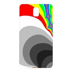 Background Image With Color Shapes Samsung Galaxy Note 3 N9005 Hardshell Back Case by Simbadda