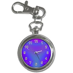 Violet Fractal Background Key Chain Watches