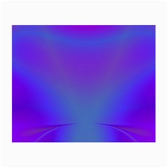 Violet Fractal Background Small Glasses Cloth (2 Side) by Simbadda