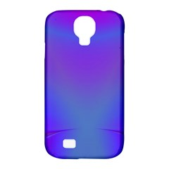 Violet Fractal Background Samsung Galaxy S4 Classic Hardshell Case (pc+silicone) by Simbadda