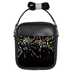 Colorful Spiders For Your Dark Halloween Projects Girls Sling Bags