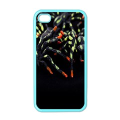 Colorful Spiders For Your Dark Halloween Projects Apple Iphone 4 Case (color) by Simbadda