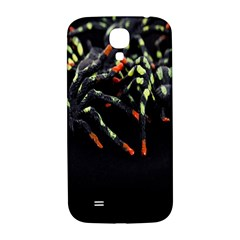Colorful Spiders For Your Dark Halloween Projects Samsung Galaxy S4 I9500/i9505  Hardshell Back Case by Simbadda
