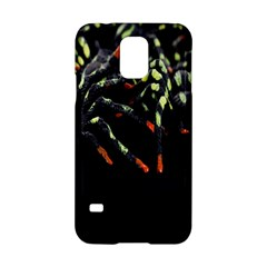 Colorful Spiders For Your Dark Halloween Projects Samsung Galaxy S5 Hardshell Case  by Simbadda
