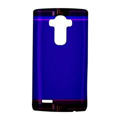 Blue Fractal Square Button Lg G4 Hardshell Case by Simbadda