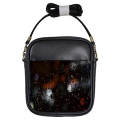 Lights And Drops While On The Road Girls Sling Bags