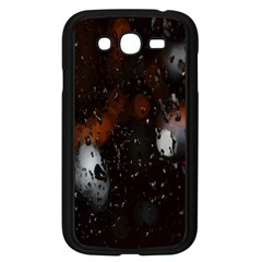 Lights And Drops While On The Road Samsung Galaxy Grand Duos I9082 Case (black) by Simbadda