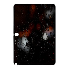 Lights And Drops While On The Road Samsung Galaxy Tab Pro 10 1 Hardshell Case by Simbadda