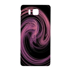 A Pink Purple Swirl Fractal And Flame Style Samsung Galaxy Alpha Hardshell Back Case by Simbadda