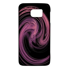 A Pink Purple Swirl Fractal And Flame Style Galaxy S6 by Simbadda