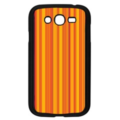 Lines Samsung Galaxy Grand Duos I9082 Case (black) by Valentinaart