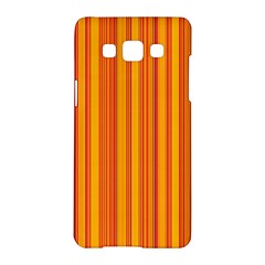 Lines Samsung Galaxy A5 Hardshell Case  by Valentinaart
