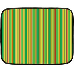Lines Double Sided Fleece Blanket (mini)