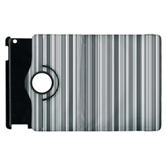 Lines Apple Ipad 2 Flip 360 Case by Valentinaart