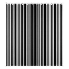 Lines Shower Curtain 66  X 72  (large)  by Valentinaart