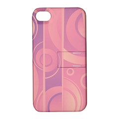 Pattern Apple Iphone 4/4s Hardshell Case With Stand by Valentinaart