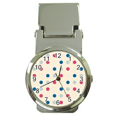Polka Dots  Money Clip Watches by Valentinaart
