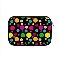 Polka Dots Apple Macbook Pro 15  Zipper Case by Valentinaart