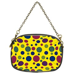 Polka Dots Chain Purses (one Side)  by Valentinaart