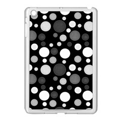 Polka Dots Apple Ipad Mini Case (white) by Valentinaart