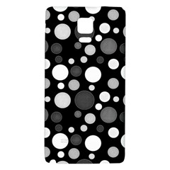 Polka Dots Galaxy Note 4 Back Case by Valentinaart