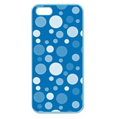 Polka Dots Apple Seamless Iphone 5 Case (color)