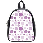 Polka dots School Bags (Small)  Front