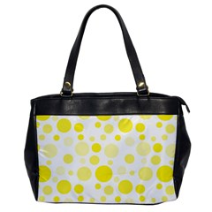 Polka Dots Office Handbags by Valentinaart