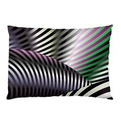 Fractal Zebra Pattern Pillow Case (two Sides) by Simbadda