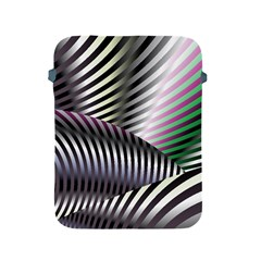 Fractal Zebra Pattern Apple Ipad 2/3/4 Protective Soft Cases