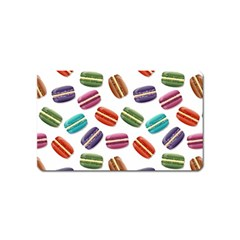 Macaroons  Magnet (name Card) by Valentinaart