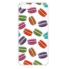 Macaroons  Apple Iphone 5 Seamless Case (white) by Valentinaart