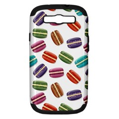 Macaroons  Samsung Galaxy S Iii Hardshell Case (pc+silicone) by Valentinaart